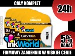 KOMPLET 4 TUSZY INKWORLD DO BROTHER LC985 CMYK, WYS. 24H!