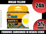 TUSZ INKWORLD ŻÓŁTY (YELLOW) DO LEXMARK 100XL Y, KURIER, WYS. 24H!