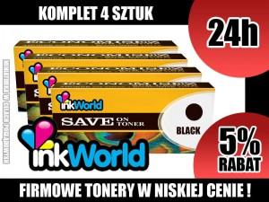 INKWORLD KOMPLET 4 TONERÓW DO BROTHER TN241, TN245 100% NOWE