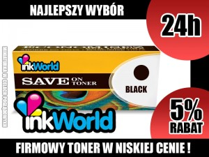 INKWORLD TONER DO BROTHER TN115 / TN135 BLACK 100% NOWY