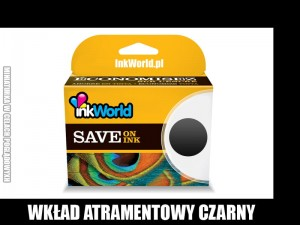 TUSZ INKWORLD CZARNY (BLACK) DO CANON PGI-1500XL BK, KURIER! WYS. 24H!