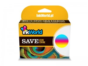 TUSZ INKWORLD KOLOROWY (COLOR) DO HP - 652 XL CMY, 500 STRON, 1115 2315 3635 3835