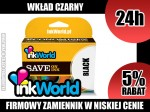 TUSZ INKWORLD CZARNY (BLACK) DO CANON PGI-520 BK, WYS. 24H!